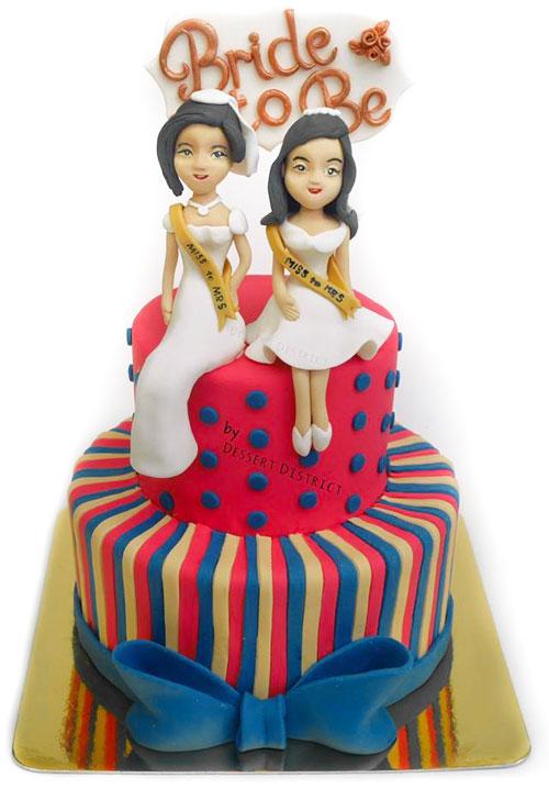 Wedding Elegant Flower Cakes