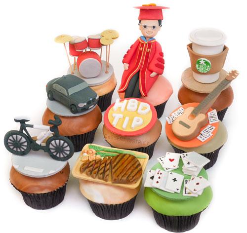 Doctor Graduation Cupcake