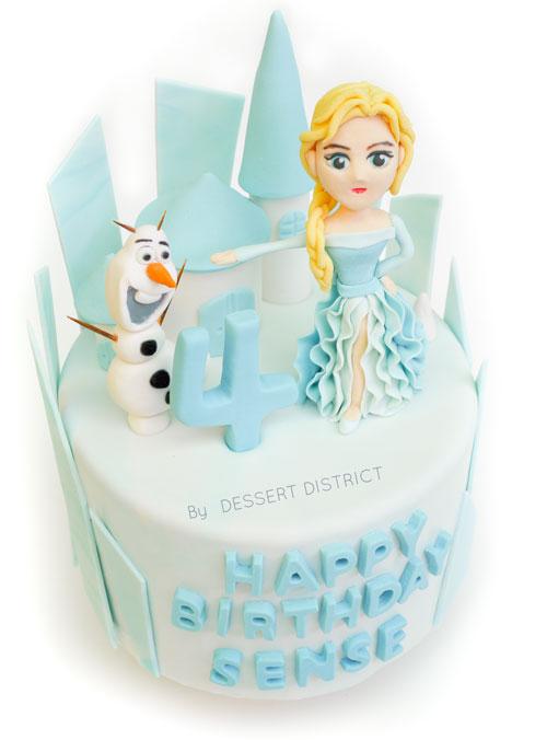 Cartoon Character Customised cakes