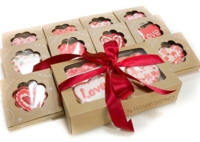 Icing Cookie Valentine gift set