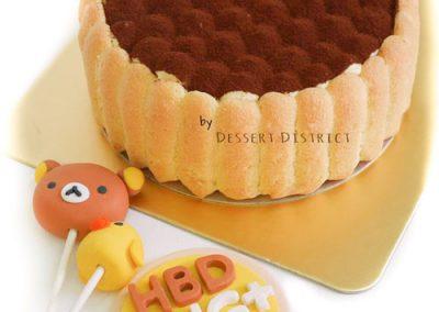 Kuma Fondant Pop Cake