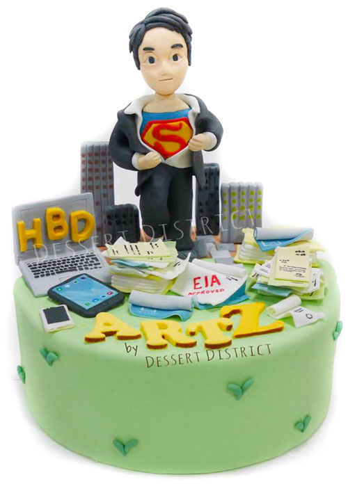 Character-Like Birthday cakes