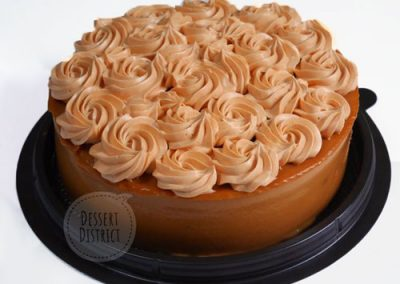 Thai-tea buttercream swirl soft cake